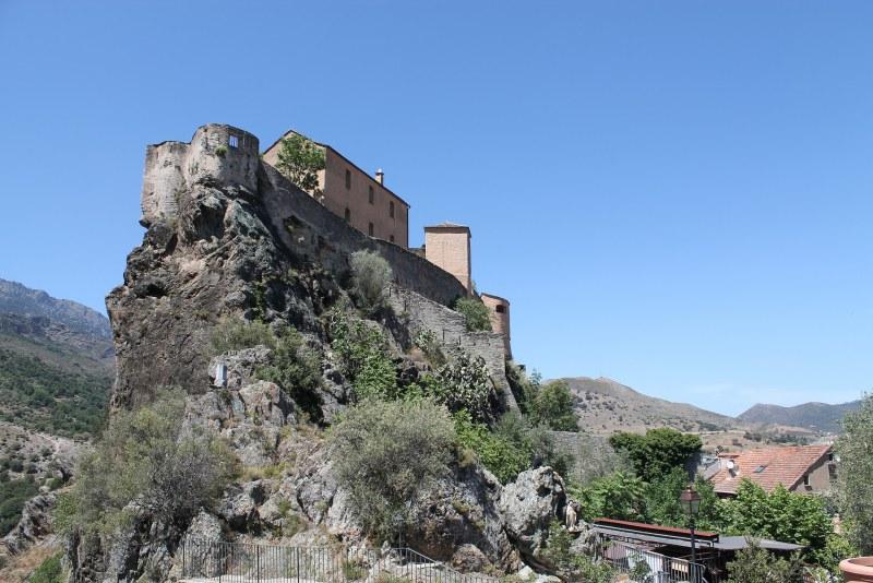 Citadelle de Corte en Haute-Corse Camping Qualité