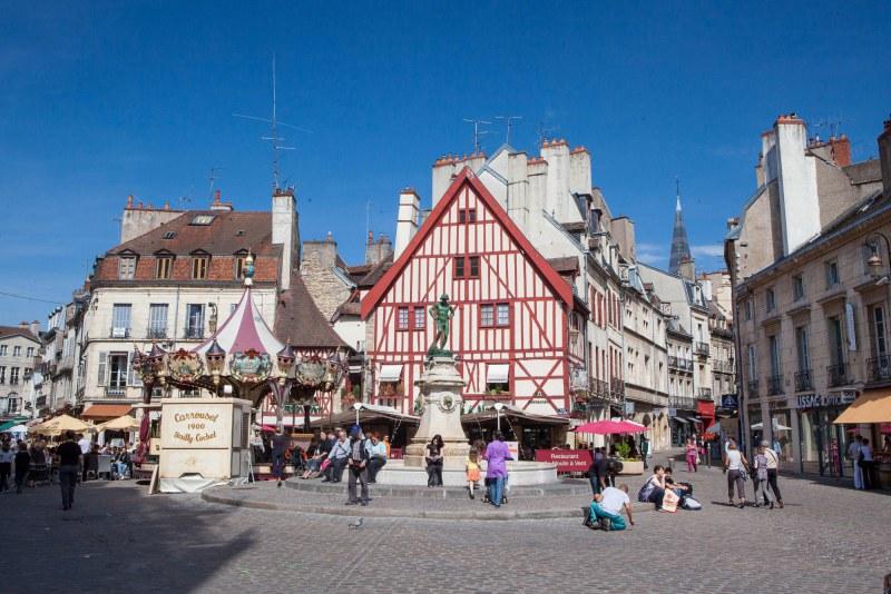 Dijon dans le département Côtes d'Or en région Bourgogne-Franche-Comté Camping Qualité