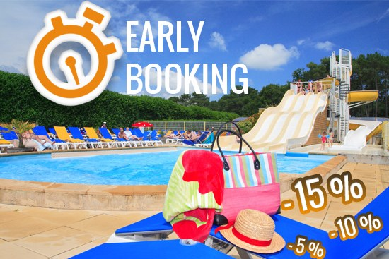 Promo camping : les offres Early Booking Camping Qualité