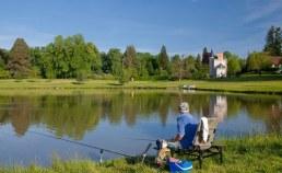 camping bord de lac Chateau de Poinsouze - Camping Qualité Creuse