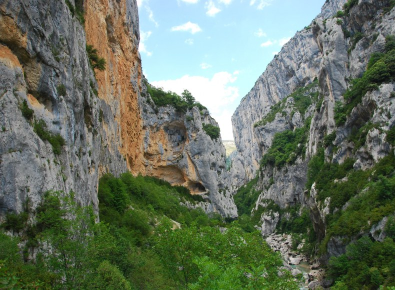 Canyon dans les Gorges du Verdon - Camping Qualité Provence-Alpes-Côtes d'Azur