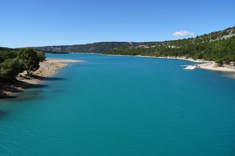 lac de Sainte-Croix dans les Gorges du Verdon - Camping Qualité Provence-Alpes-Côtes d'Azur