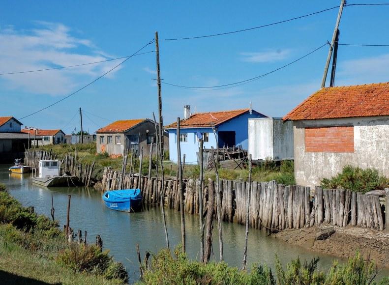 Cabanes de pêcheurs sur l'Île d'Oléron Camping Qualité Charente-Maritime