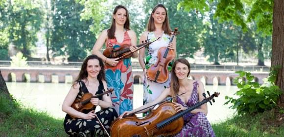Le Classique s'invite au camping avec Camping Qualité - Quatuor Conservatoire de Toulouse