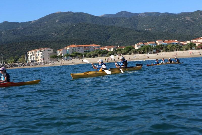 Kayak à Argelès-sur-Mer - Camping Qualité Pyrénées-Orientales Occitanie