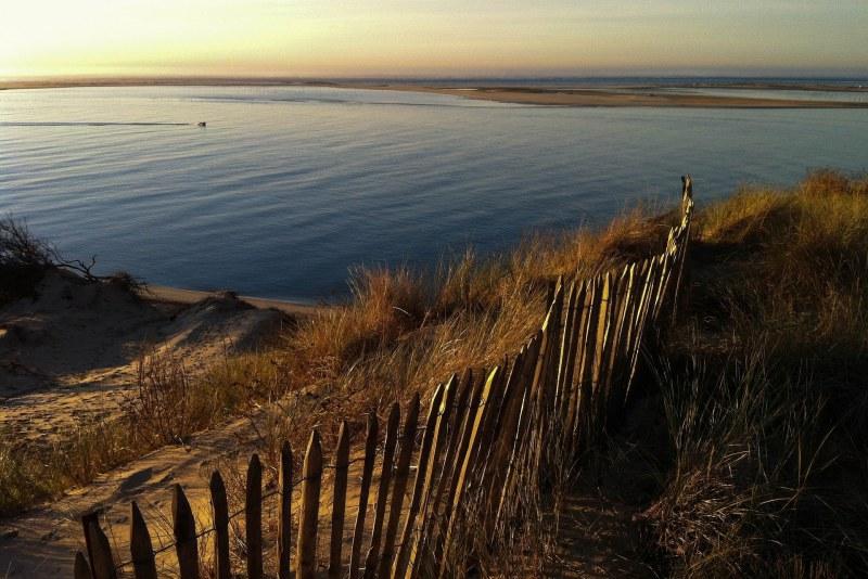 Vue sur le Bassin d'Arcachon depuis la Dune du Pilat en Gironde Camping Qualité Nouvelle Aquitaine