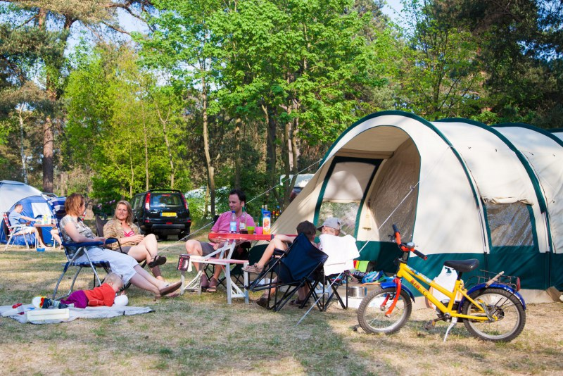 emplacement pour tente familiale en camping