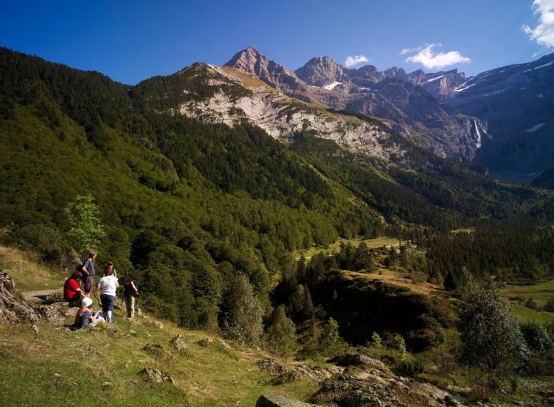 Cirque de Gavarnie, Hautes-Pyrénées Camping Qualité Occitanie