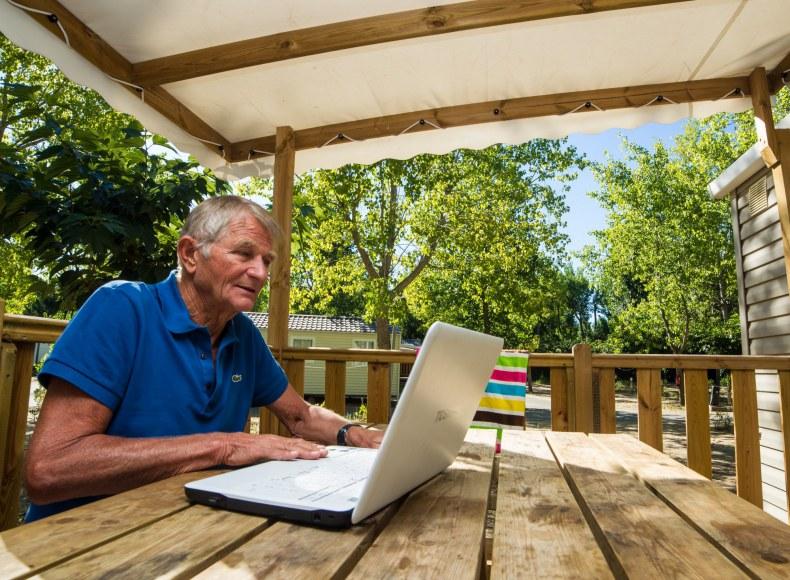 wifi depuis votre mobil-home Camping Qualité