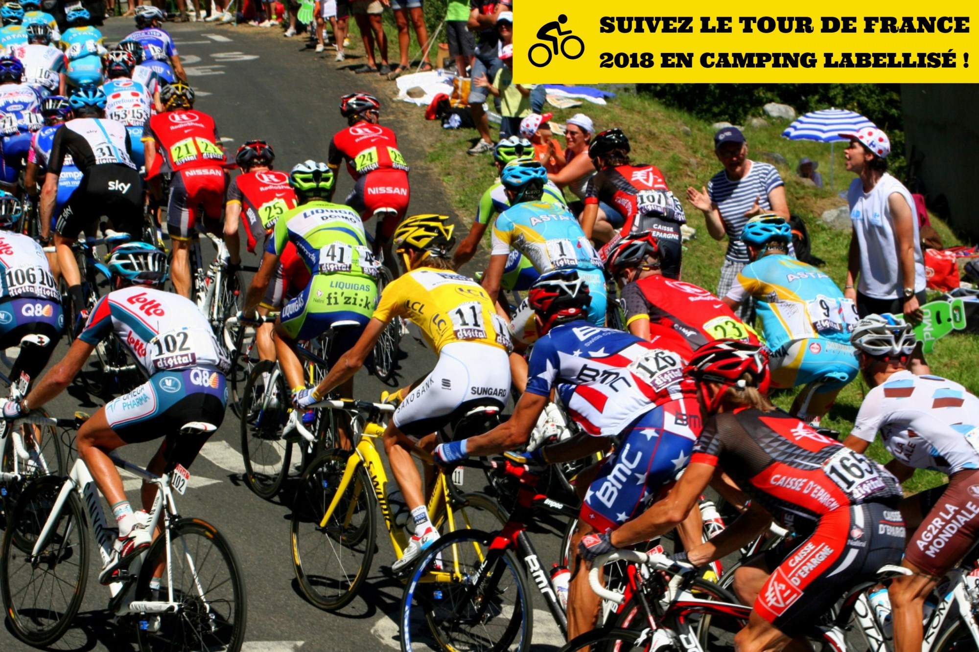 Suivez le Tour de France 2018 en camping labellisé !