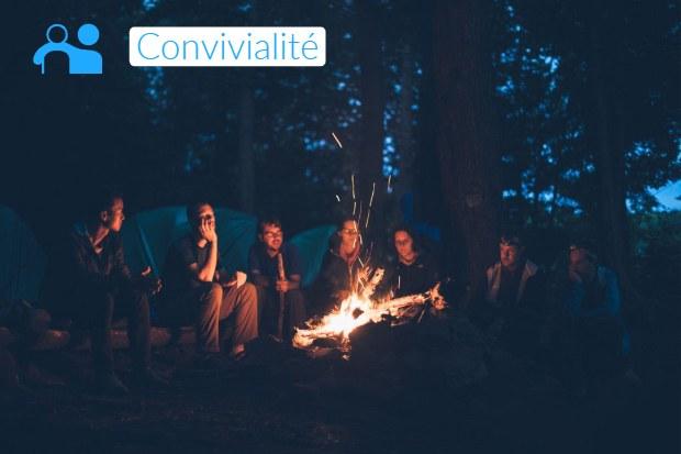 Convivialité en camping - campingqualite.com