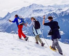 Rando en raquettes dans les Alpes