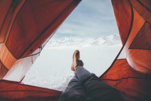 emplacement camping tente hiver : camper en hiver avec Camping Qualité