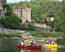 Session canoë-kayak depuis le Camping La Butte 3 étoiles en Nouvelle-Aquitaine - Dordogne | Label Camping Qualité