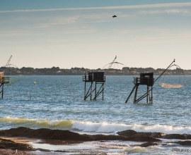 Cabanes à pêche proches du Camping du Bord de Mer 3 étoiles dans les Pays-de-la-Loire - Loire-Atlantique | Label Camping Qualité
