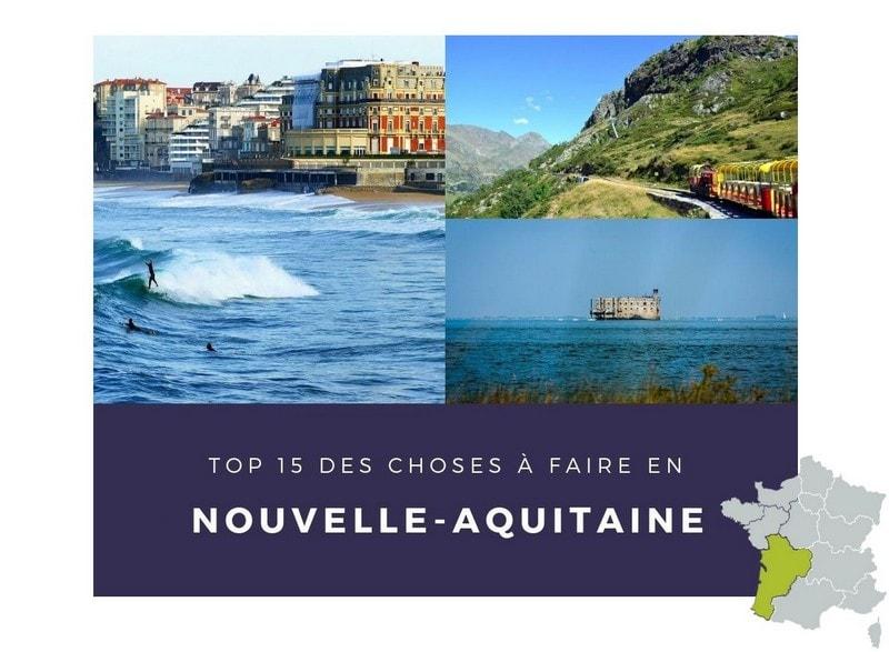 TOP 15 NOUVELLE-AQUITAINE
