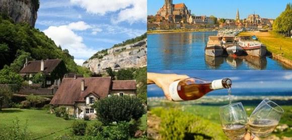 Lieux touristiques en région Bourgogne Franche Comté