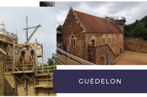 camping guedelon