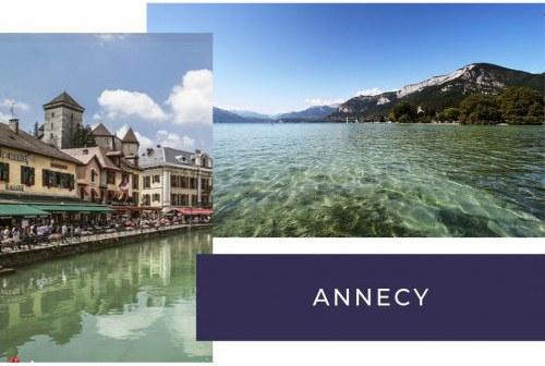 Incontournable depuis votre camping à Annecy