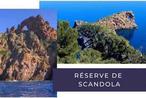 Incontournable depuis votre camping à la réserve de Scandola